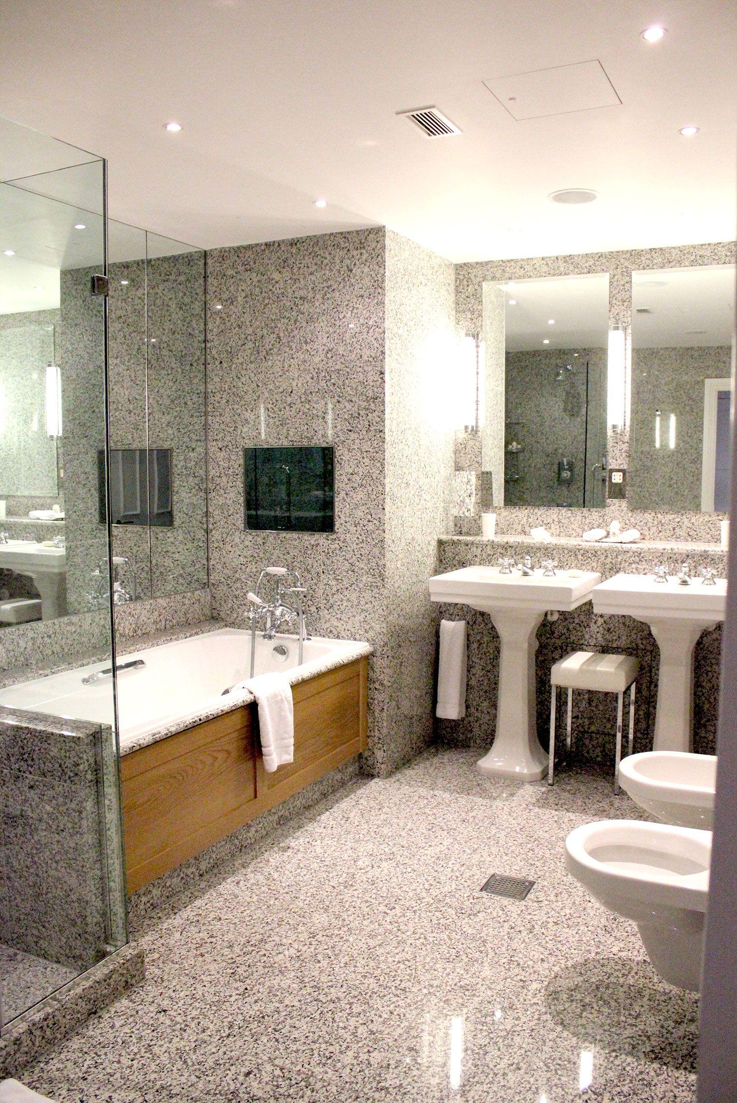 the haymarket hotel  central london  big bathrooms