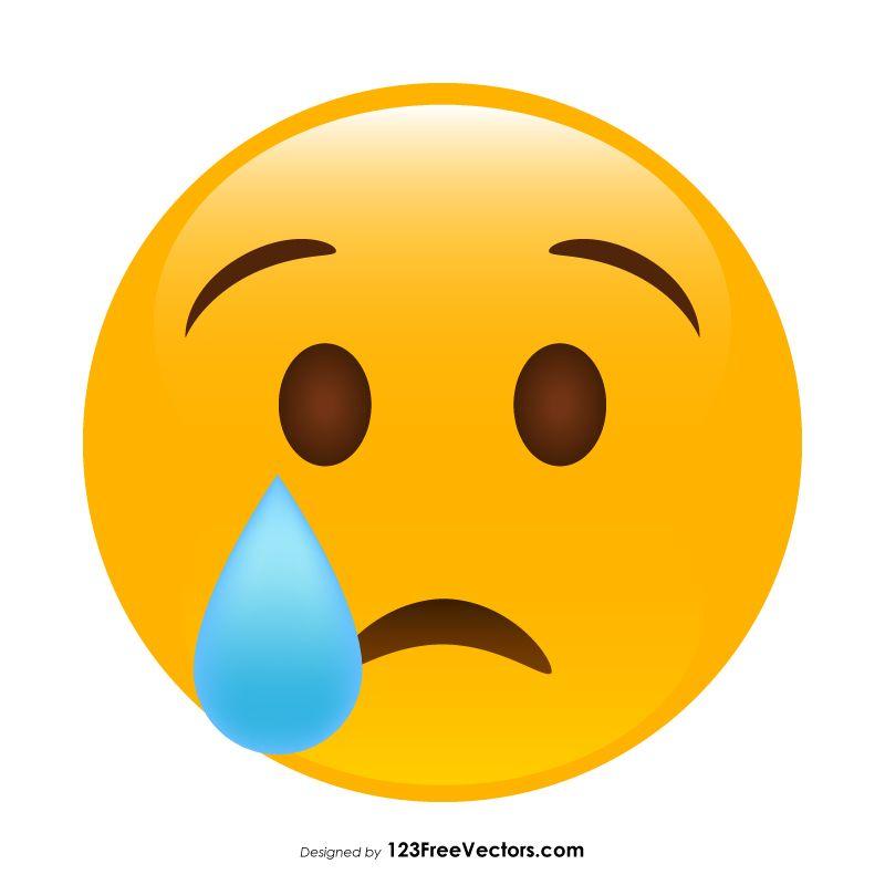 Crying Face Emoji Crying Face Crying Emoji Emoji