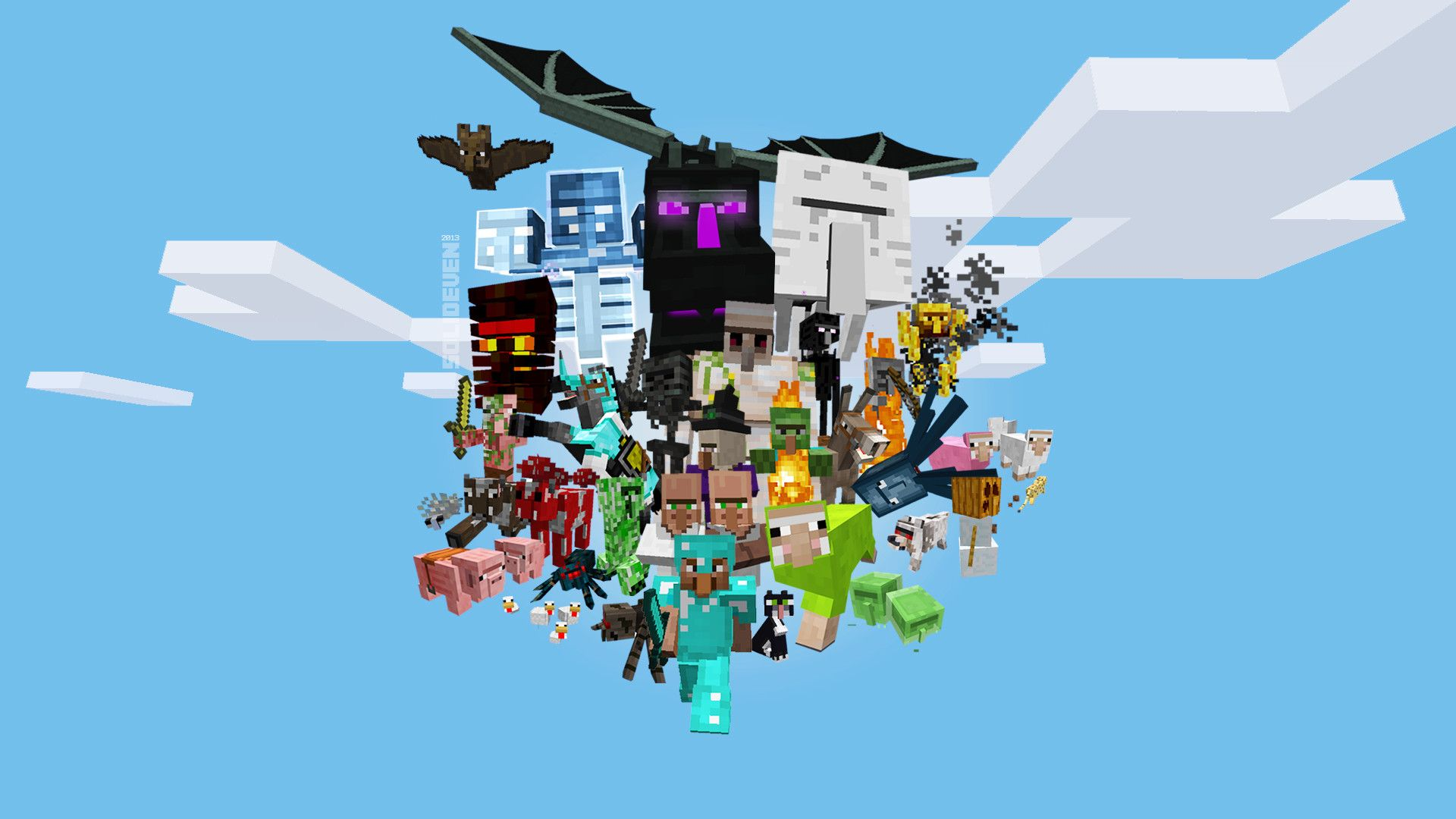 Minecraft Wallpapers HD p Wallpapers HD Wallpapers