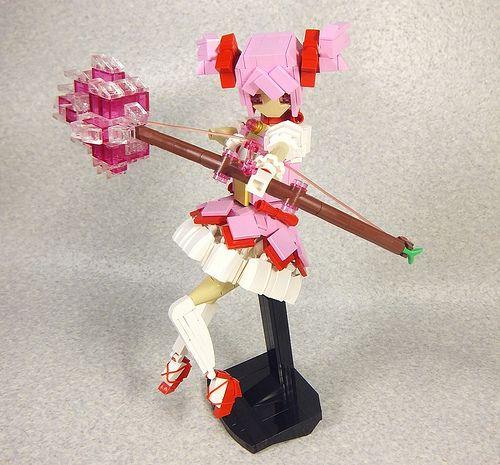 Kaname Madoka by LEGO DOU Moko