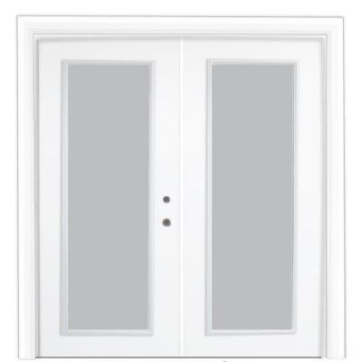 Exceptional Stanley Doors Steel Patio Door With Clear LowE 600010   The Home Depot