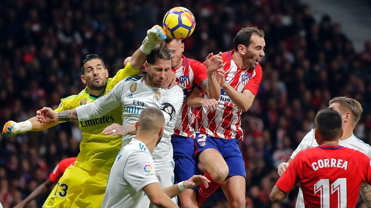 Berita La Liga Spanyol Atletico Madrid 0 0 Real Madrid