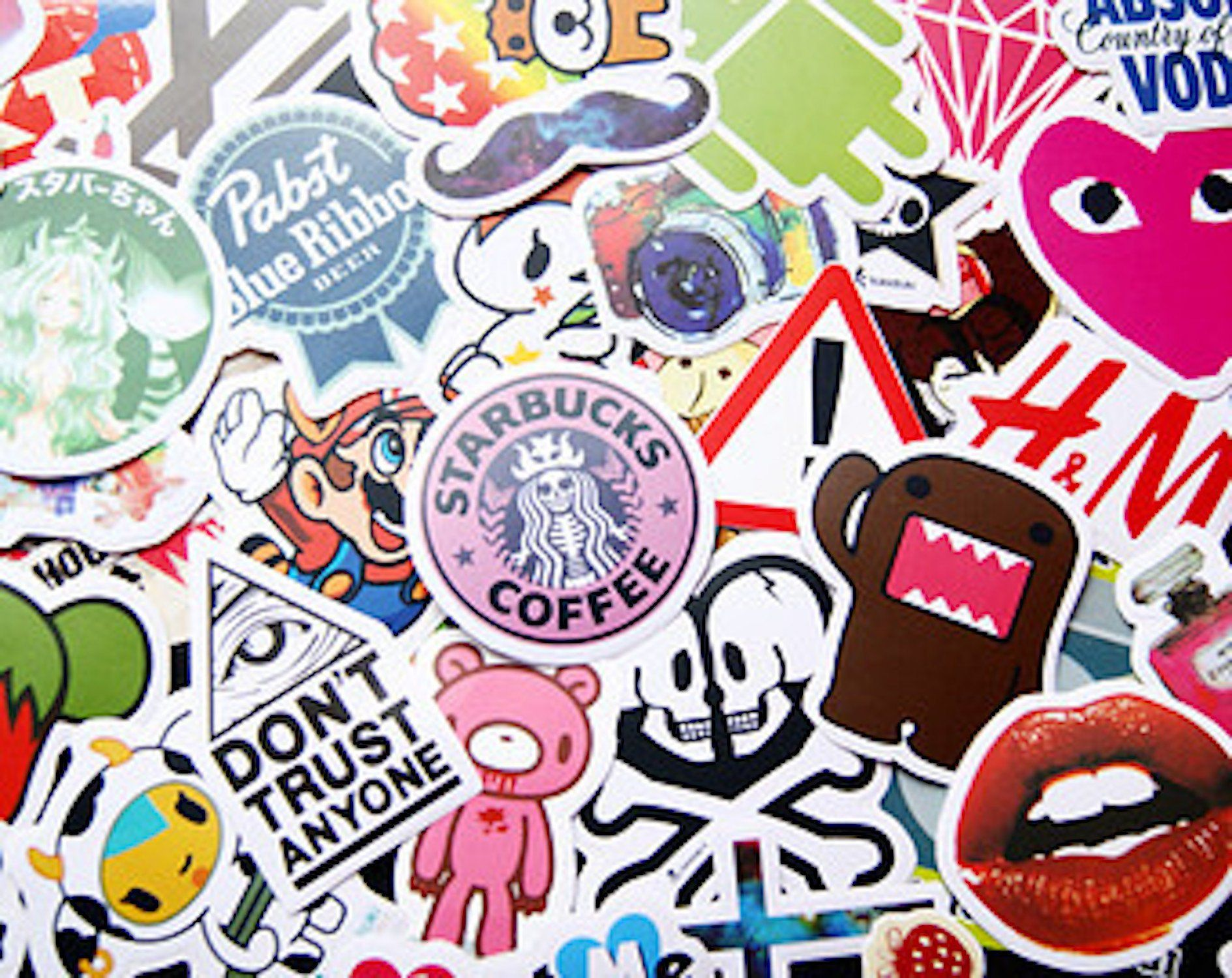 Tumblr inspired sticker pack set mystery box surprise pack sticker bomb by flinsky on etsy