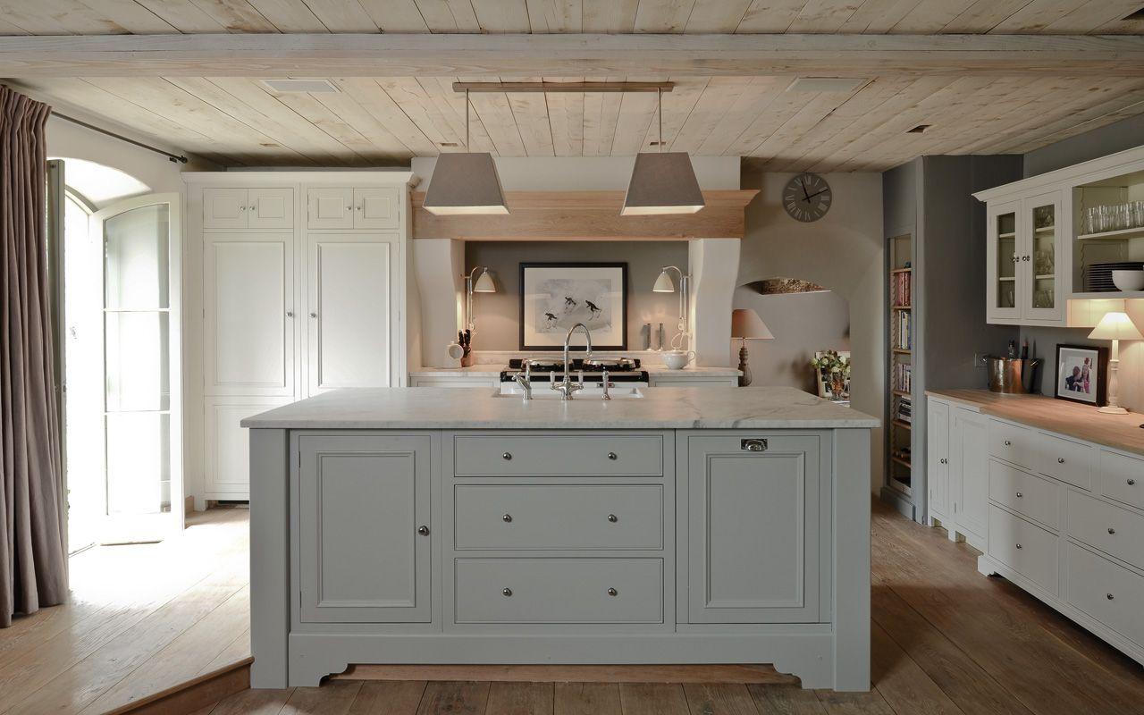 Neptune Kitchens  Grey kitchen island, Light grey kitchens