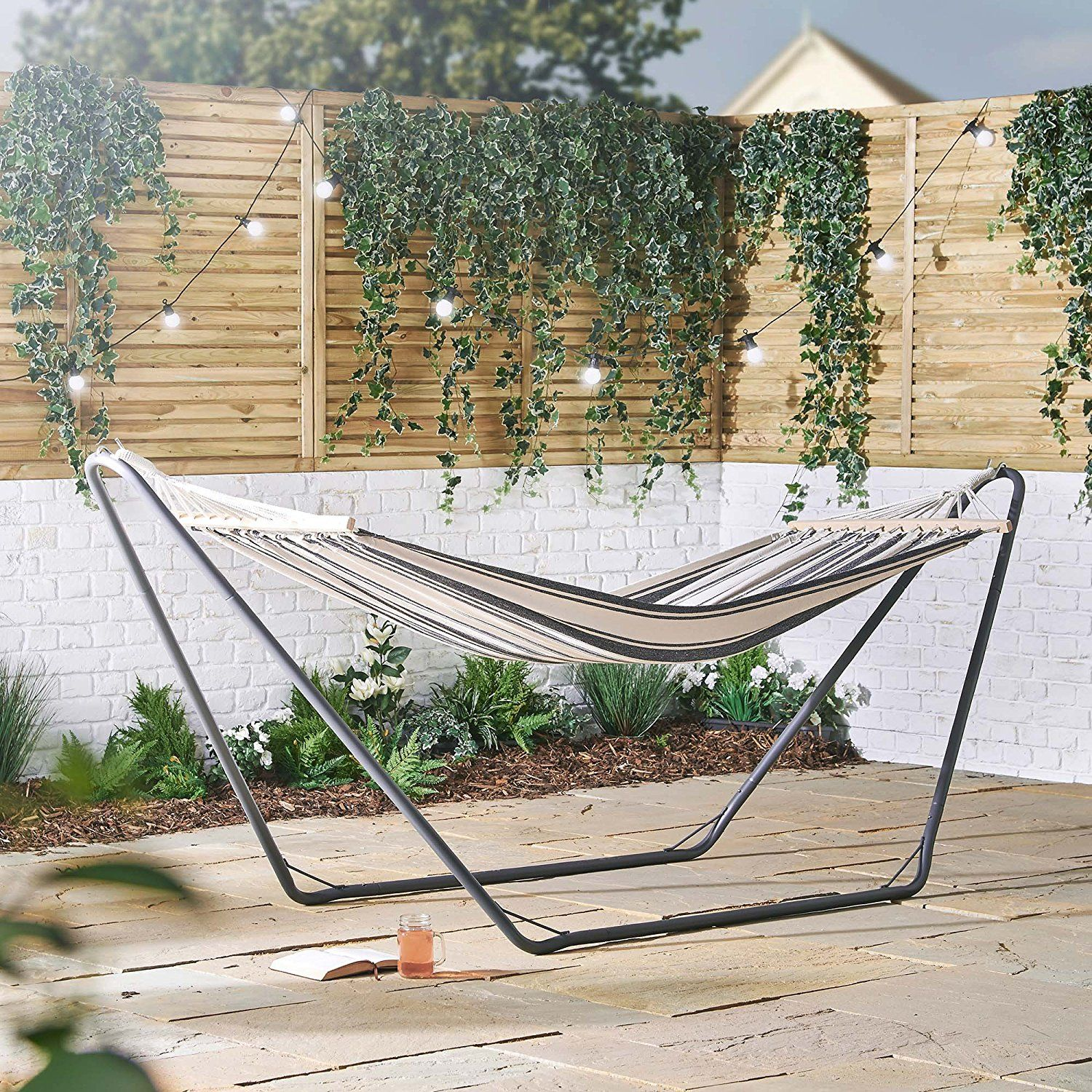 for rope frame hammocks arch stand interior garden metal hammock with sale shop