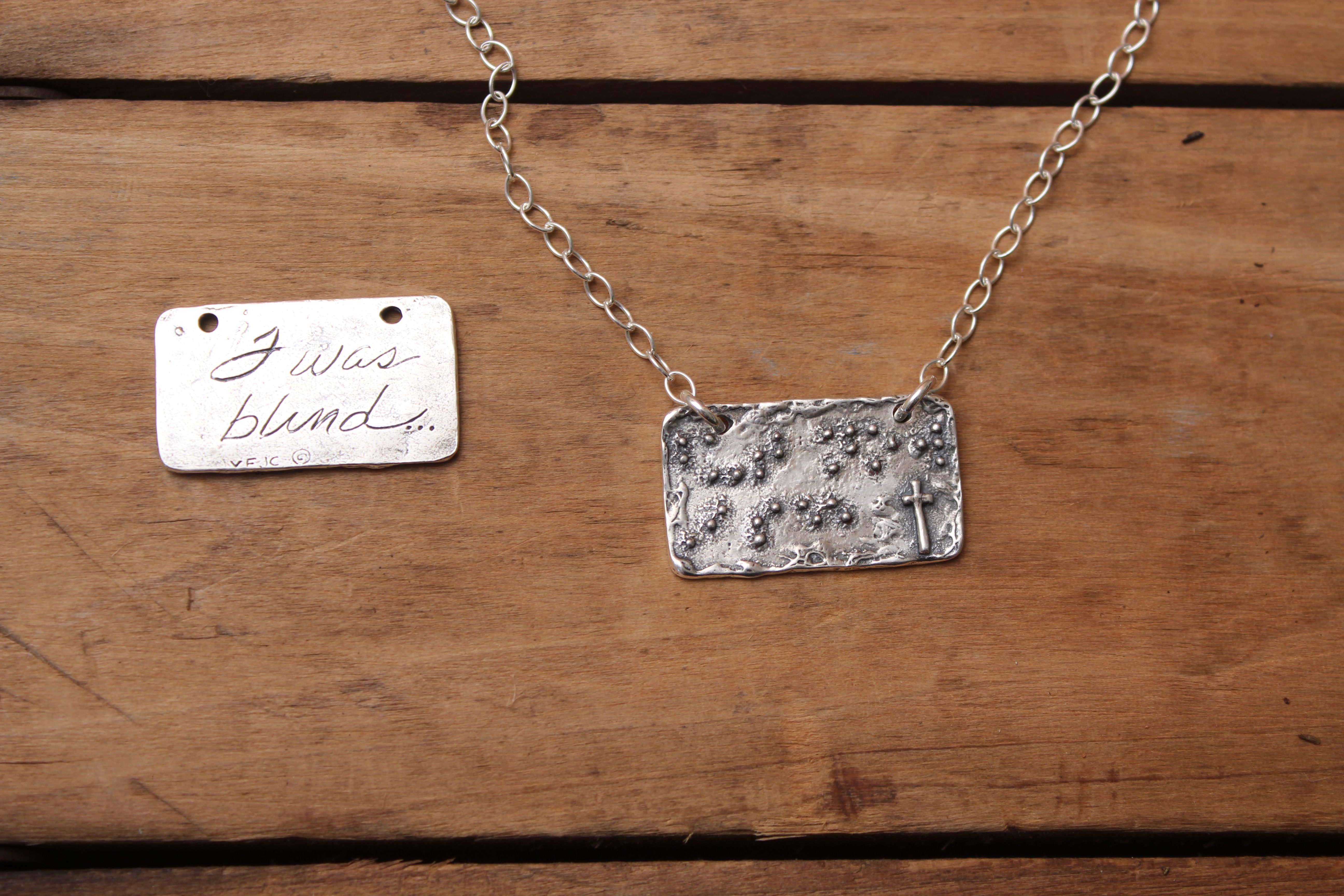 But Now I See | Visible Faith Jewelry Co  | Christian
