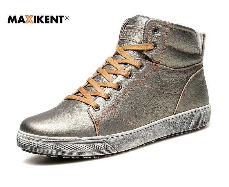 81.25$  Buy now - http://aliox9.worldwells.pw/go.php?t=32754341811 - Maxiken New design Men Winter Boots Ankle Boots High Quality footwear comfortable stylish