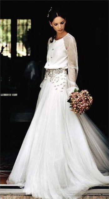 o vestido de noiva de mercedes peralta - constance zahn | wedding