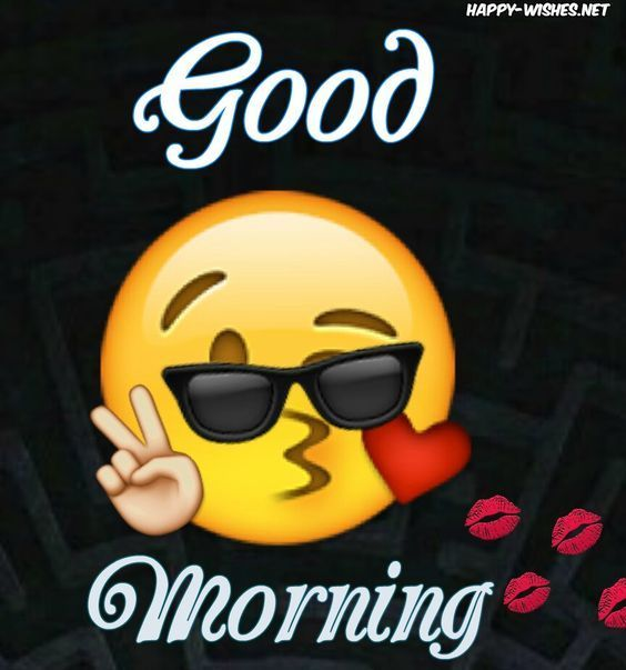 Best Funny Emoji Good Morning Wishes Kissing Emoji Image Good Morning Wishes Kissing Emoji Image Pictures, Photos, and Images for Facebook, Tumblr, Pinterest, and Twitter 4