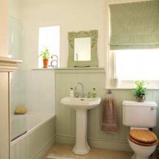 Tongue And Groove Bathroom Idea Itty Bitty Baths Pinterest