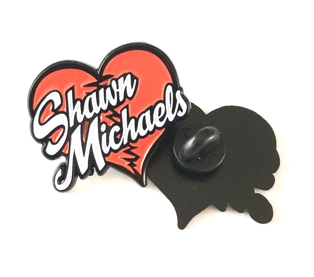 Wwe Wwf Shawn Michaels Heartbreak Kid Hasbro Enamel Pin Badge Free Postage Uk Enamel Pin Badge Pin Badges Shawn Michaels