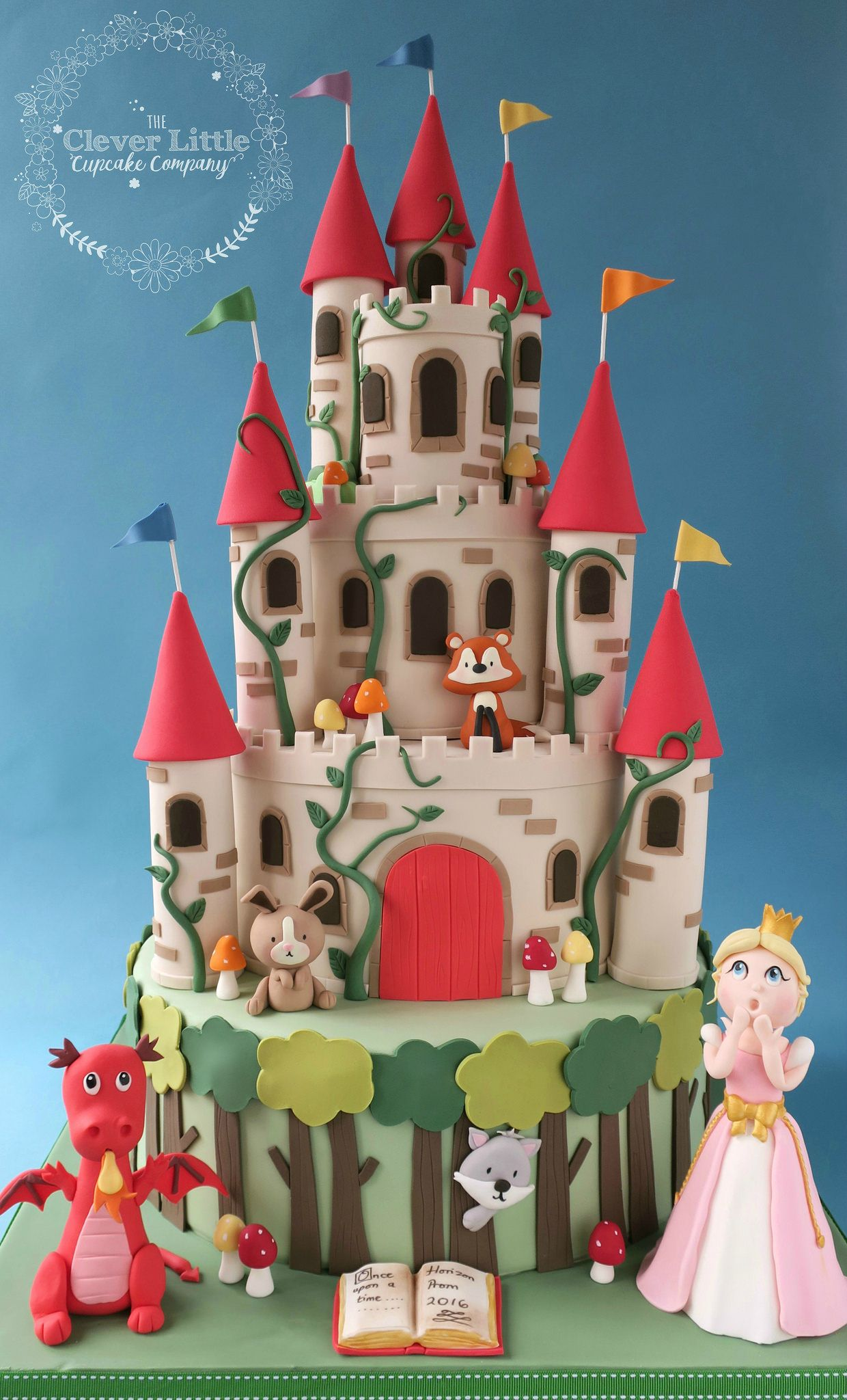 https://flic.kr/p/JdiQRE | Enchanted Castle Cake | Absolutely loved making this!  Tiers of vanilla and chocolate.
