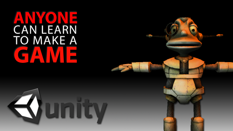 Learn how to make a video game with Unity 3D. Make a