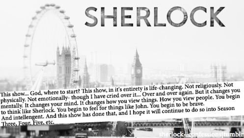 How to explain Sherlock to a friend how has never watched it before