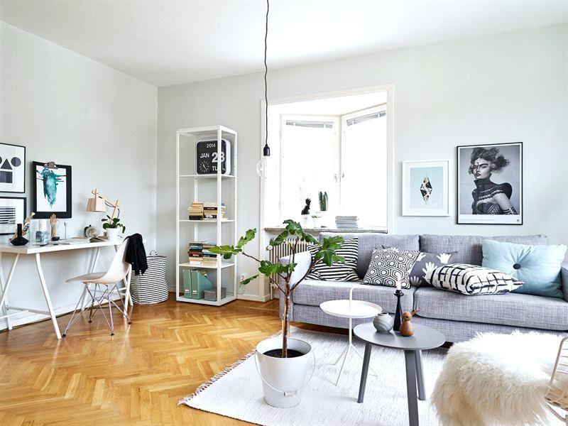 Wohnzimmer Büro Kombination #küche #arbeitszimmer #wohnideen #wohnwand  #ikea #schlafzimmer #