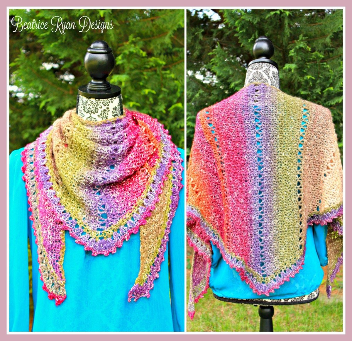 Amazing Grace Simple Spring Wrap If you love this free pattern, Add ...