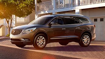 Luxury Crossovers Suvs By Buick Buick Enclave Best Midsize