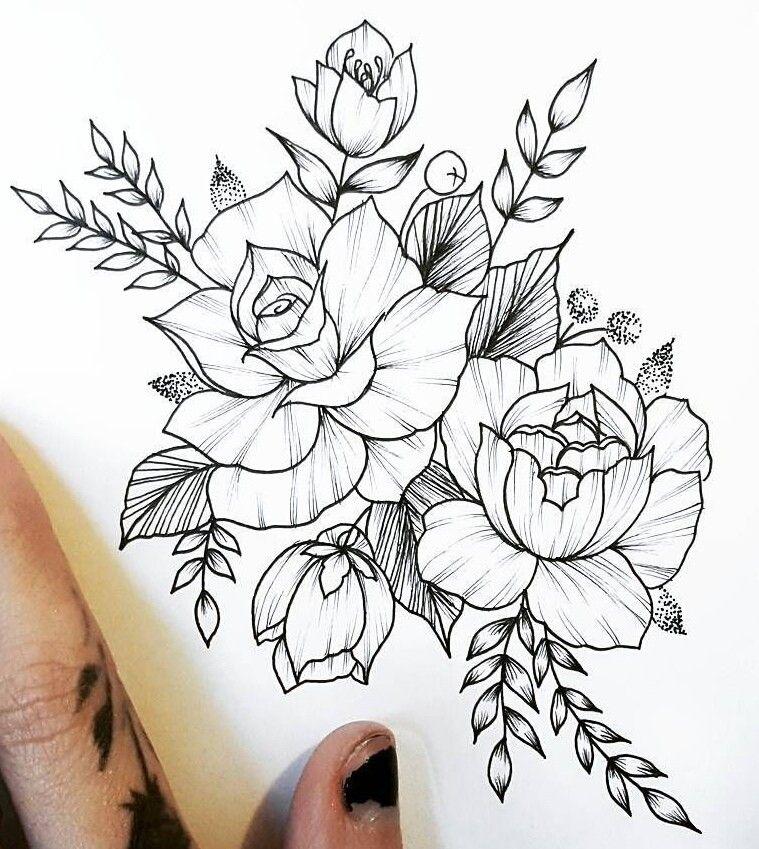 Pin De Kristen Morgan En Dibujos Para Bordar Dibujos De Flores Flores Japonesas Tatuajes