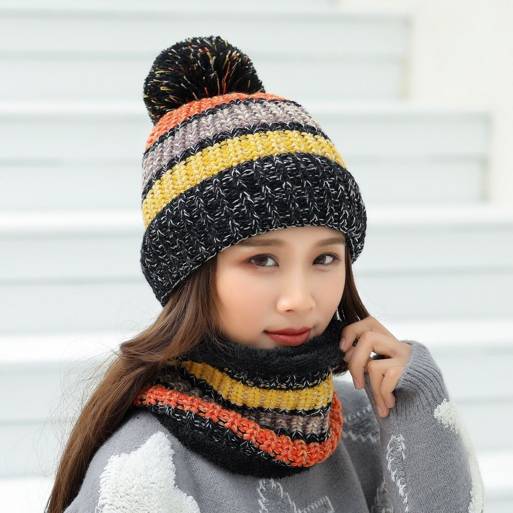 286a8bdf01c Women s Winter Thickening Windproof Wool Hat Warm Earmuffs Scarf Knit Cap   fashion  clothing  shoes  accessories  womensaccessories  hats (ebay link)