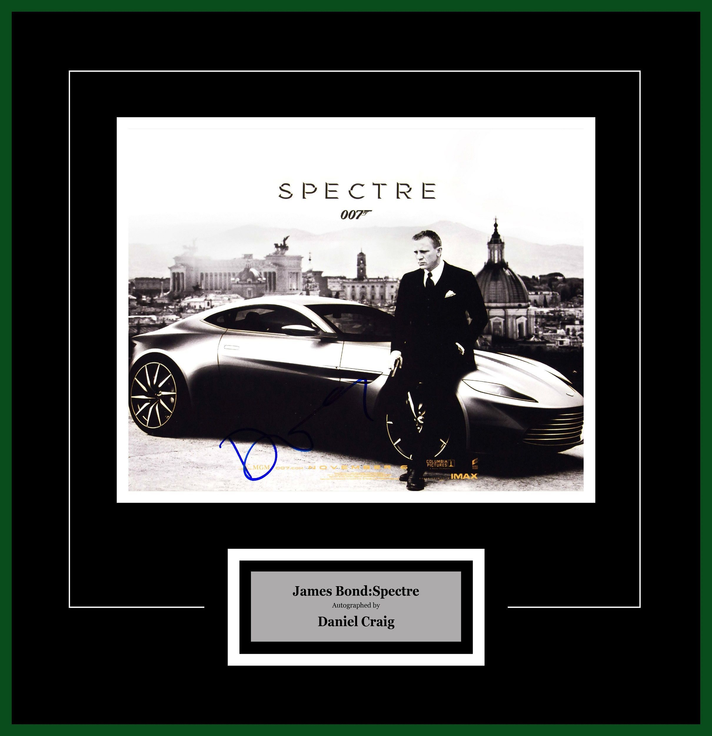 James Bond Spectre- Signed by Daniel Craig - Framed Artist Series