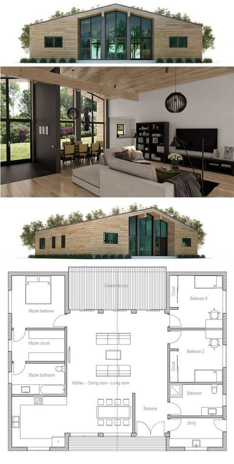 House Plan CH325 #containerhouse
