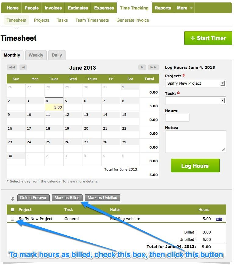 Charging a flat rate for your projects is a great way of pricing - how to send an invoice