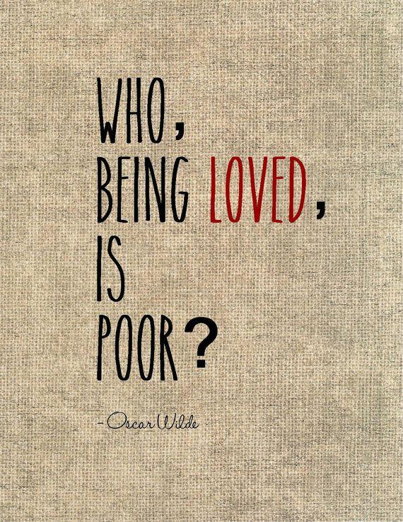 Oscar Wilde Liebe Zitat Typografie Druck Literarischen Angebot Romantik  Ehemann Frau Hochzeit Geschenk Liebe Valentinstag Geschenk
