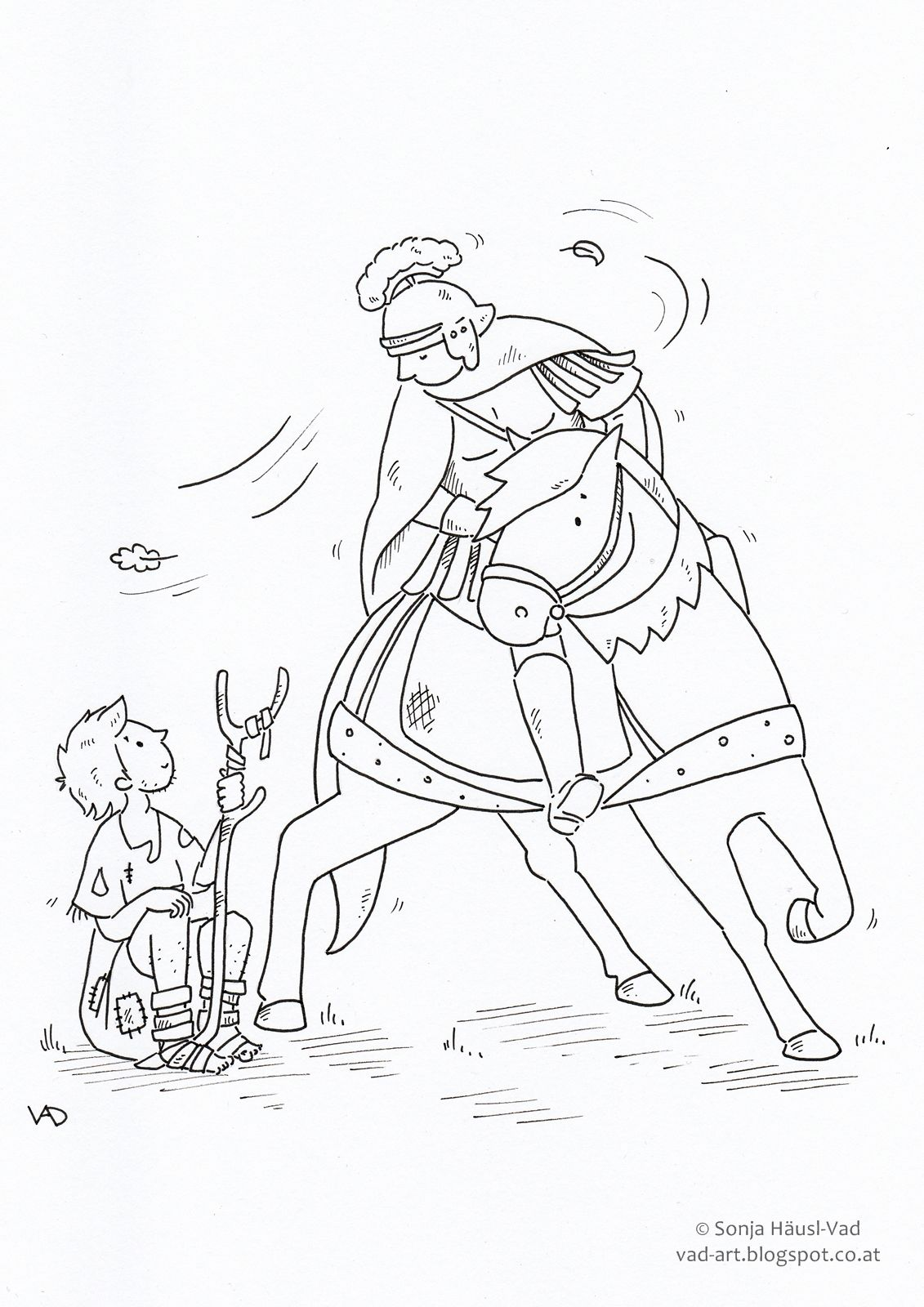 22++ St martin of tours coloring page HD