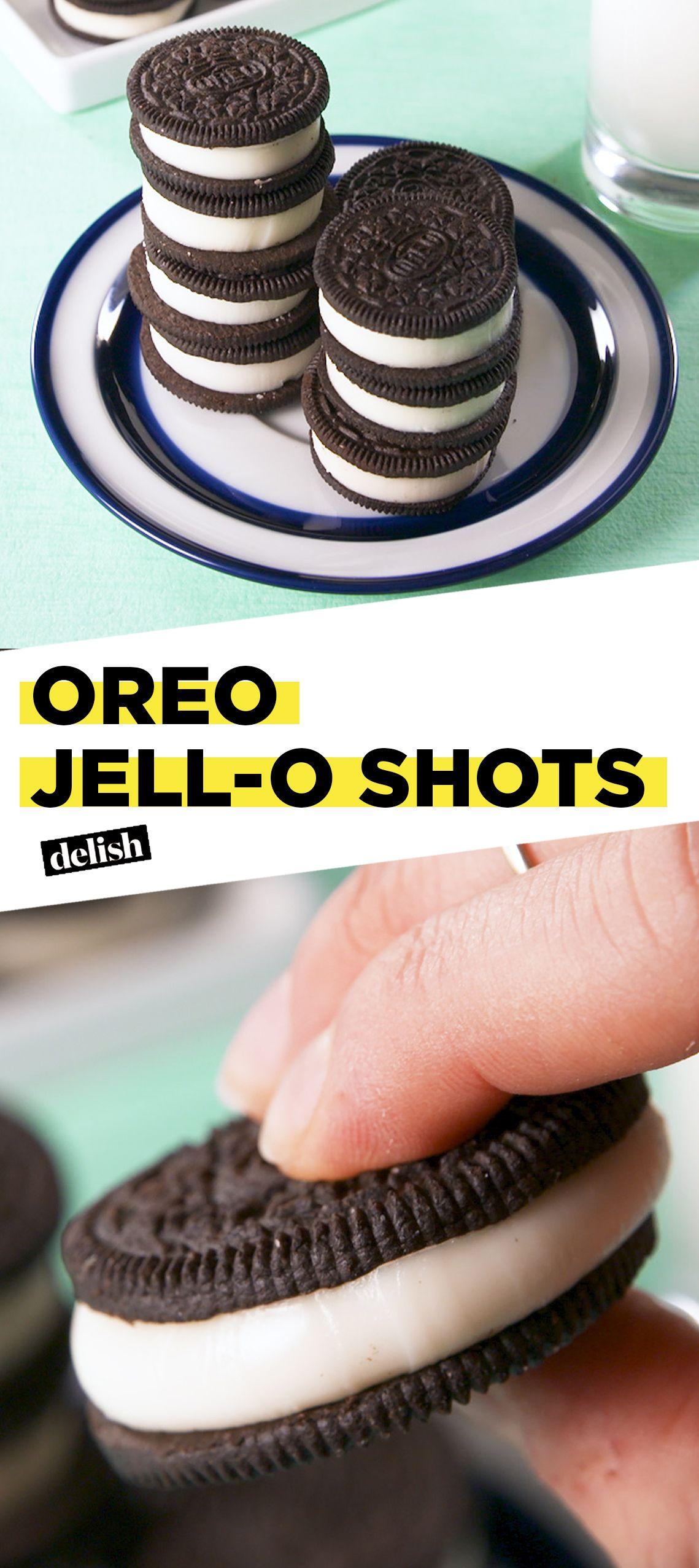 How To Make Oreo Jell-O Shots
