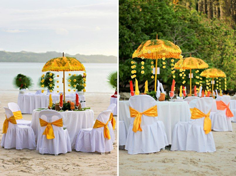 Caribbean Themed Wedding Reception Coordinator Varlden Ghia Fuerzas