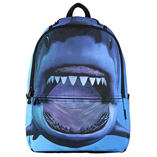 Hynes Eagle Printed Kids' Backpack (Shark) - Best Backpacks Online ...