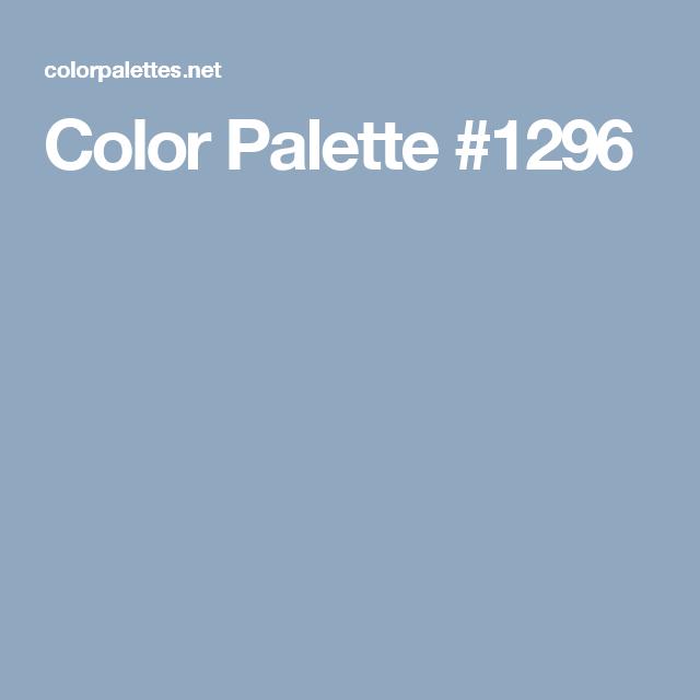 Color Palette #1296