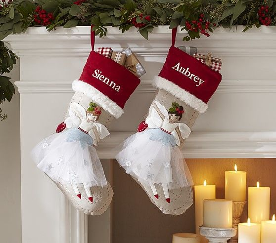 Woodland Stocking Collection | Pottery Barn Kids With a pattern to ... : pottery barn kids quilted stocking - Adamdwight.com
