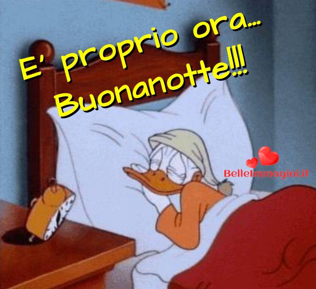 Buonanotte Con Paperino Foto Belle Per Whatsapp Giorno Notte