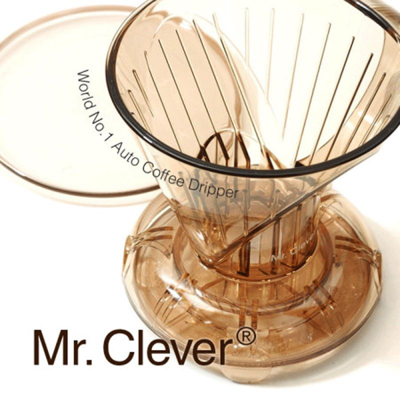 mr clever coffee dripper with lid smart handy brewer bpa free hand drip 2 sizes
