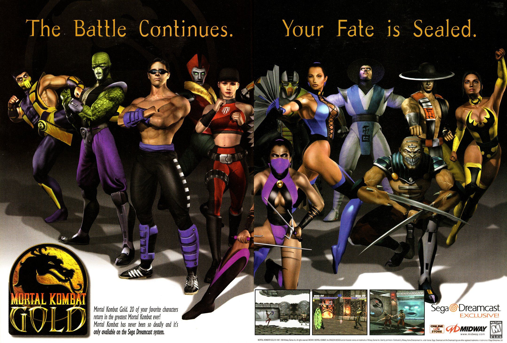 Mortal Kombat Gold Is An Upgraded Port Of Mortal Kombat 4 Which