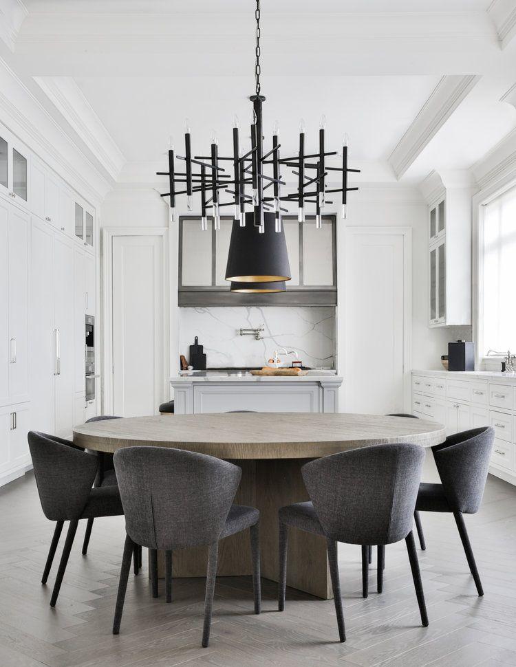 NORTH TORONTO — MEG CASSIDY CREATIVE | Round dining room table