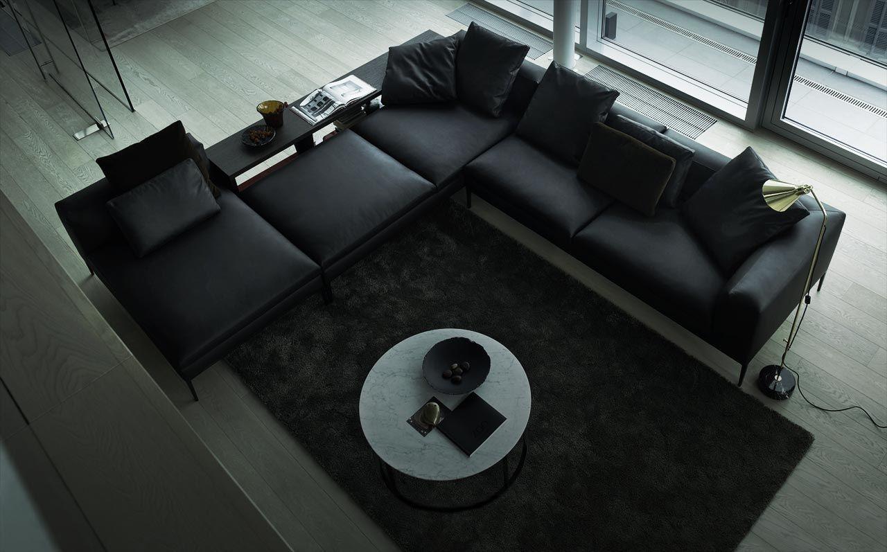 Meubles Design Meuble Moderne Mobilier Design Meubles Modernes Italiens B Bitalia Einrichtungsstil Schwarze Wohnzimmermobel Sofa Design