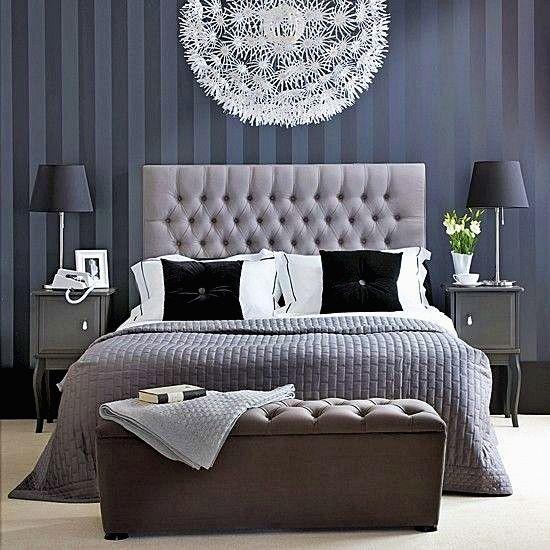 20 Romantic Bedroom Ideas: White, Silver Bedroom, Home