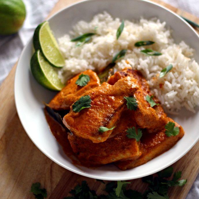Tilapia Thai Sauce: Healthy 30-Minute Thai Dinner Recipes