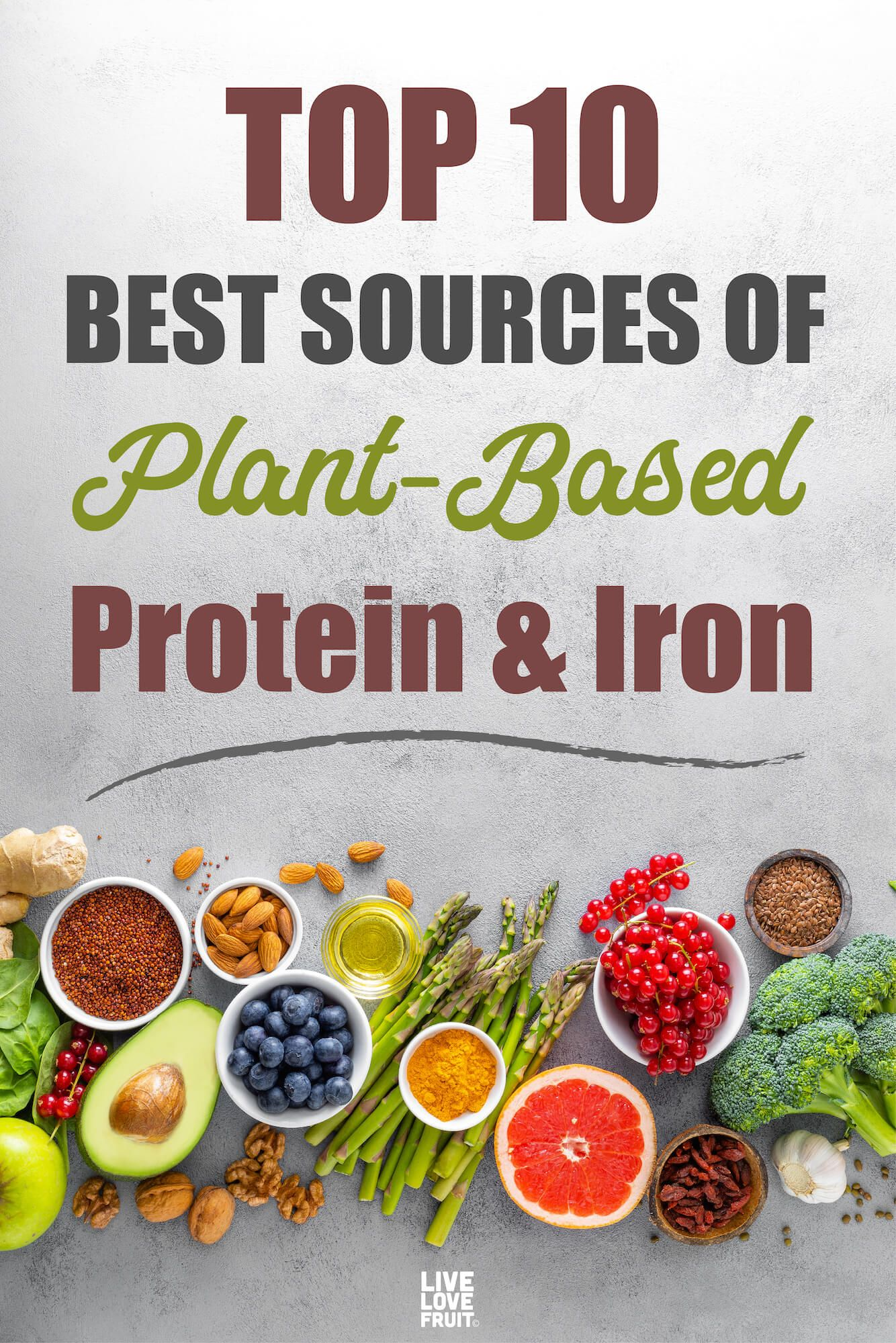 10 of The Best NonMeat Protein and Iron Sources Plant
