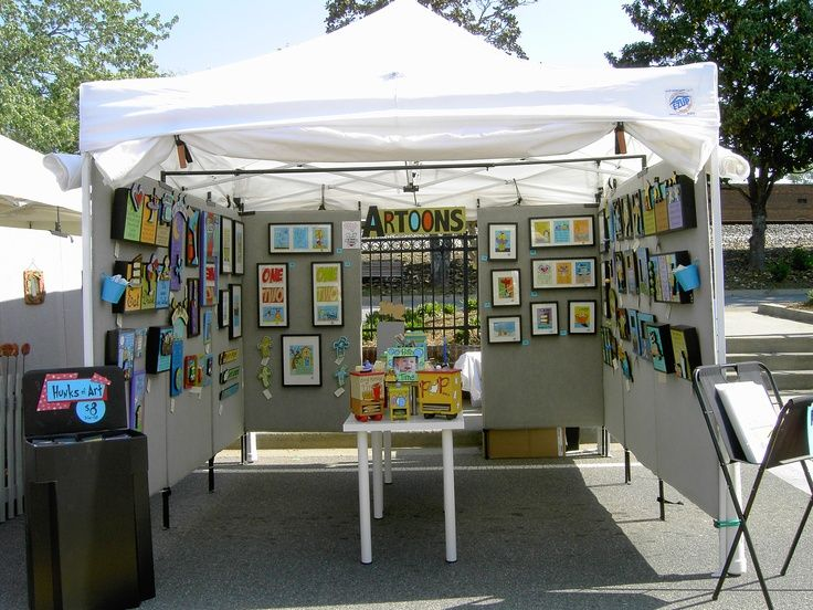 Diy panels for art fair tent google search art fair for Display tents for craft fairs