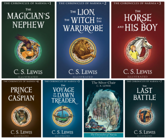 Image result for the chronicles of narnia books