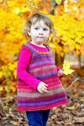 Ravelry: Sweet Sweater Dress pattern by Lion Brand Yarn