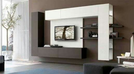 Pinelizabeth Ayala On Decoración Casa  Pinterest Glamorous Tv Cabinet Designs For Living Room 2018