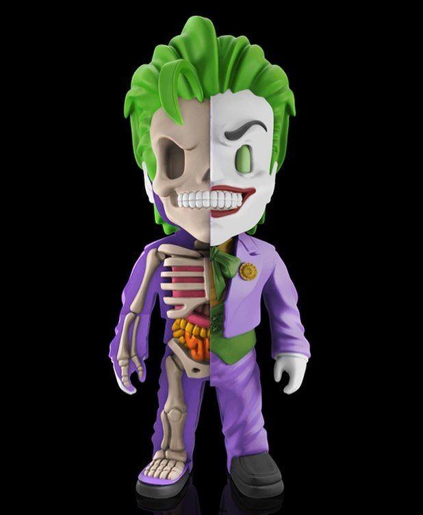 http://ift.tt/2lHGhsa @gummifetus x @mightyjaxx The Joker #Anatomy figures IN STOCK NOW - 4inch collectible #Deathstroke #D.C. #dccomics #mightyjaxx #jasonfreeny #anatomical #dissection #hero #superhero #superheroes #villain #supervillain #toy #vinyl #plastic #shelfcandy