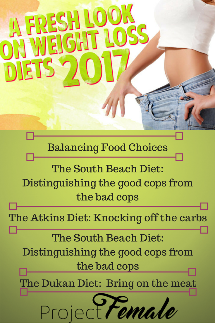 A Fresh Look on Weight Loss Diets 2017 | Nutrition