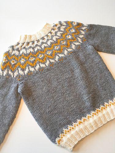 7bd35ace islandsgenser dame oppskrift - Google-søk | Knitting ...