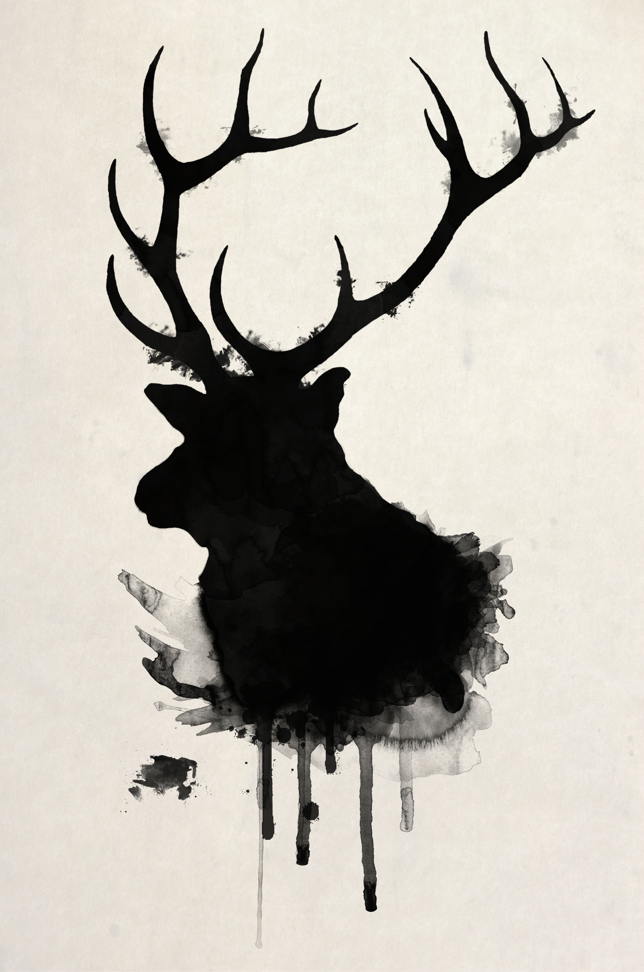 Elk...this pattern would be good as a sillouette pattern for the 4-H ...