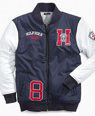 b6a40aa2 Tommy Hilfiger Kids Jacket, Little Boys Parson Baseball Jackets - Kids Boys  2-7 - Macy's